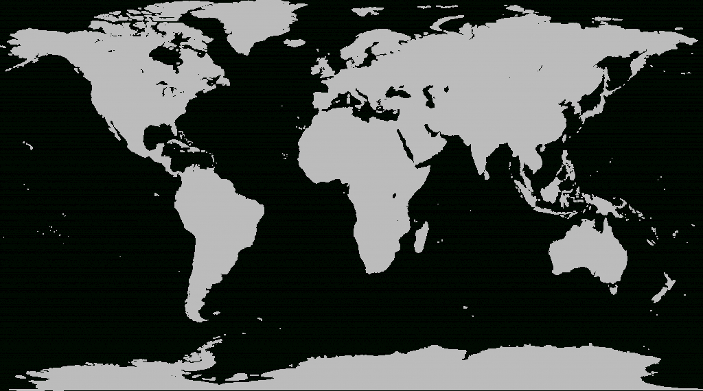 File:world Map Blank Without Borders.svg - Wikimedia Commons - Printable World Map No Labels
