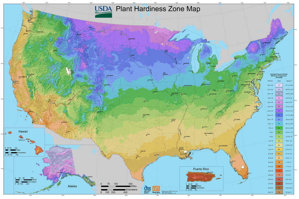 Find Your Growing Zone | Gardeninminutes - Florida Zone Map
