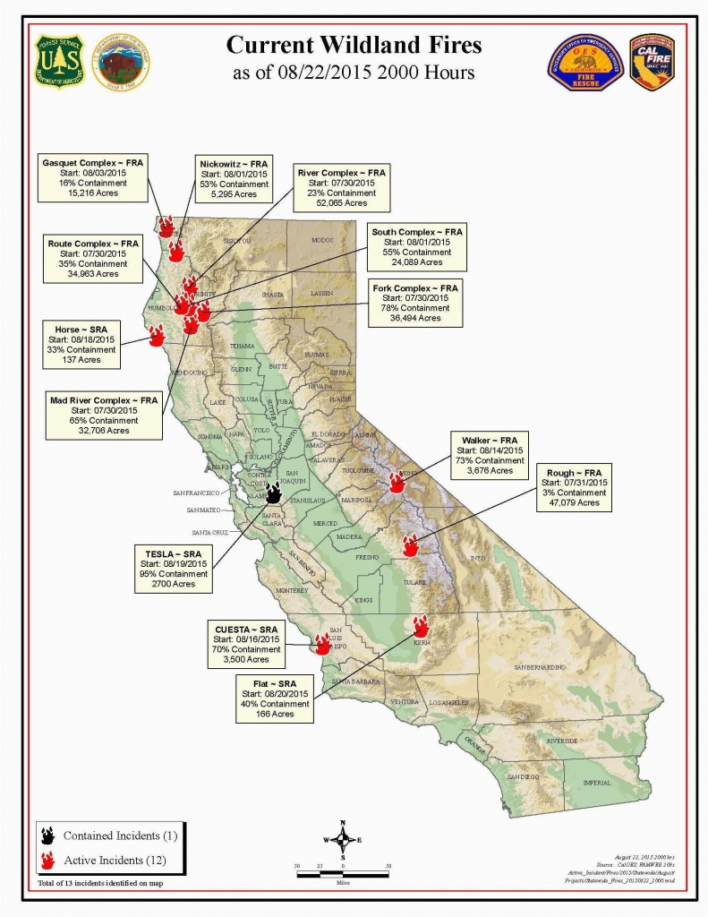 Fire Map California Fires Current Southern California Wildfire Map - State Of California Fire Map