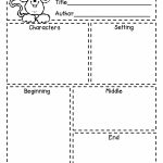 First Grade A La Carte: Story Elements Freebie | Reading In   Printable Story Map For Kindergarten