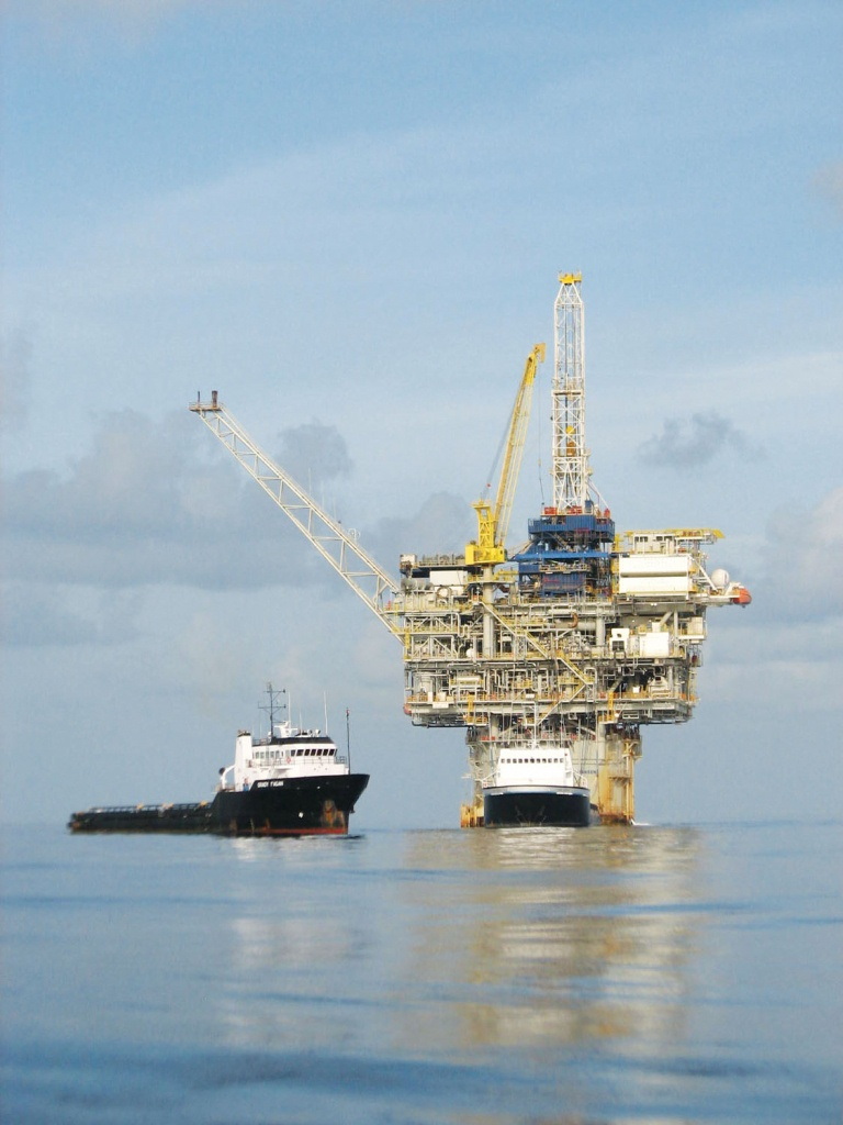 Fishing The Gulf Of Mexico's Islands Of Steel - Texas Oil Rig Fishing Map