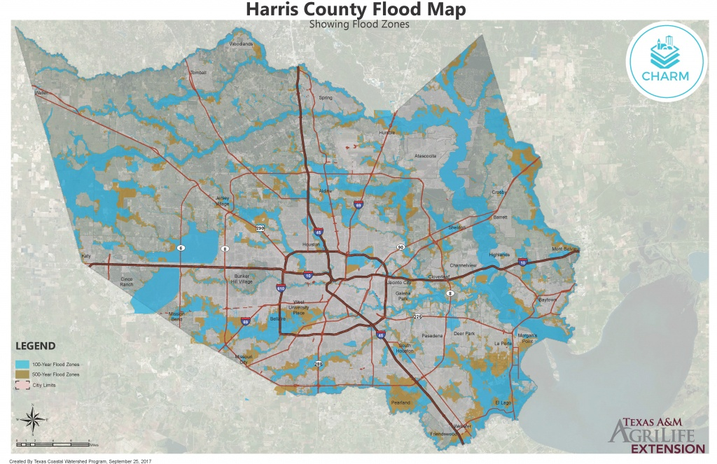 Flood Zone Maps For Coastal Counties   Texas Community Watershed - Katy Texas Flooding Map