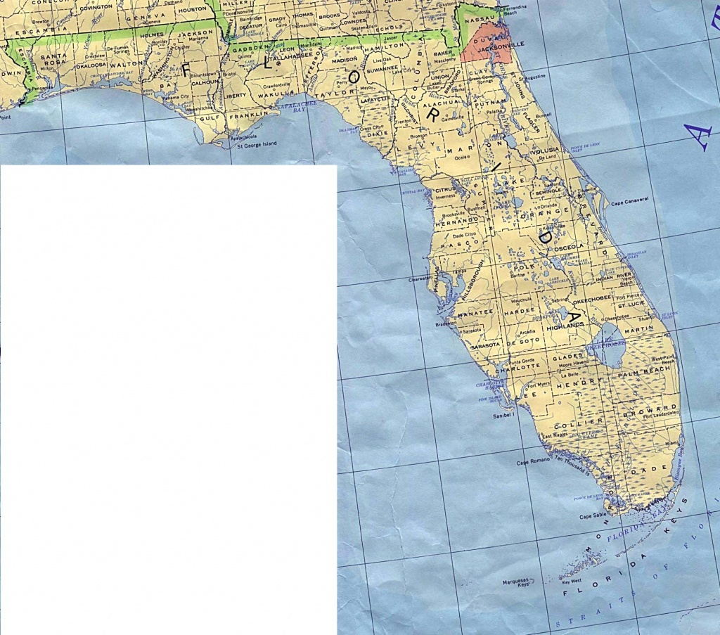 Florida Base Map - Current Map Of Florida