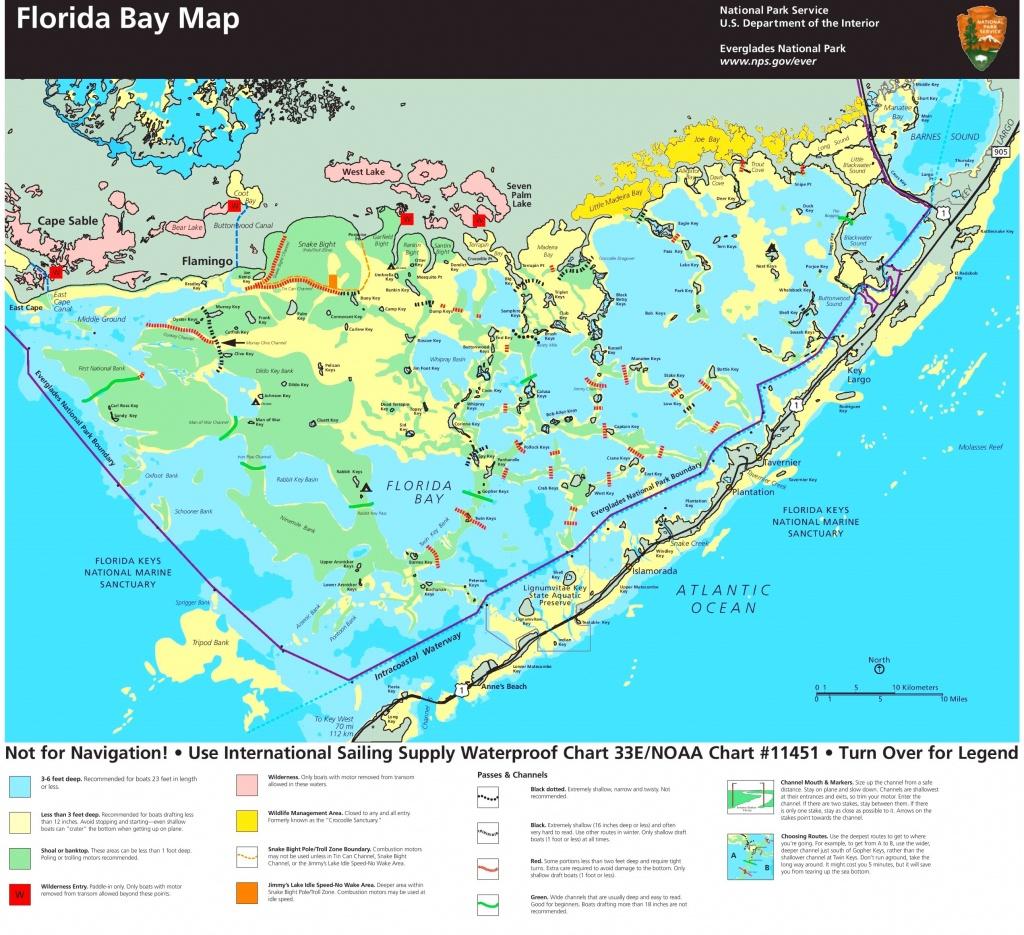 Florida Bay Map 15 Florida Everglades Map   Ageorgio - Florida Everglades Map