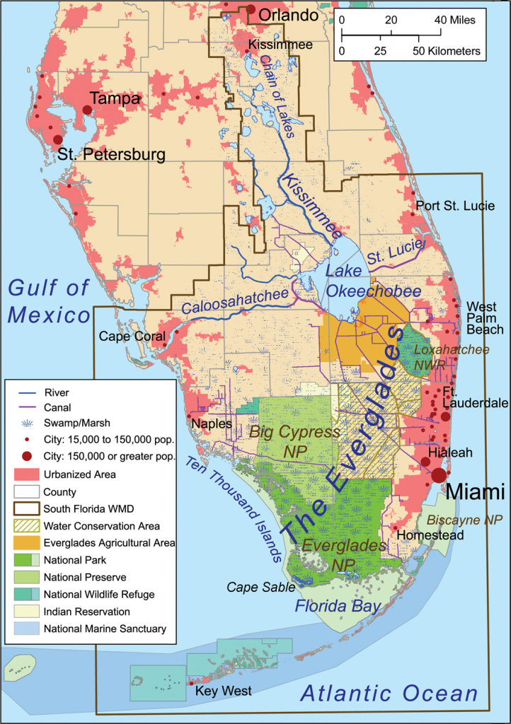 Florida Everglades Map