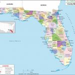 Florida County Map, Florida Counties, Counties In Florida   Map Chipley Florida
