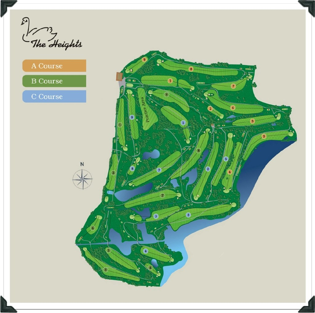 Florida Golf Courses Map And Travel Information | Download Free - Golf Courses In Naples Florida Map