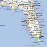 Florida Gulf Coast Beaches Map | M88M88   Map Of Florida Cities And Beaches