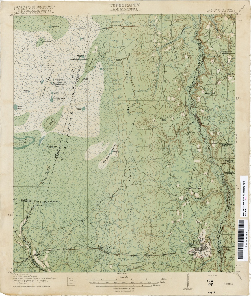 Florida Historical Topographic Maps - Perry-Castañeda Map Collection - Florida Topographic Map Pdf