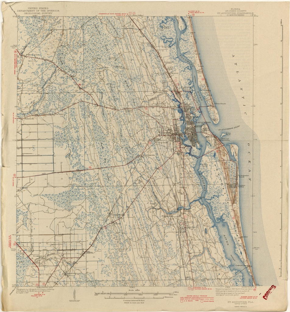Florida Historical Topographic Maps - Perry-Castañeda Map Collection - Historic Florida Maps