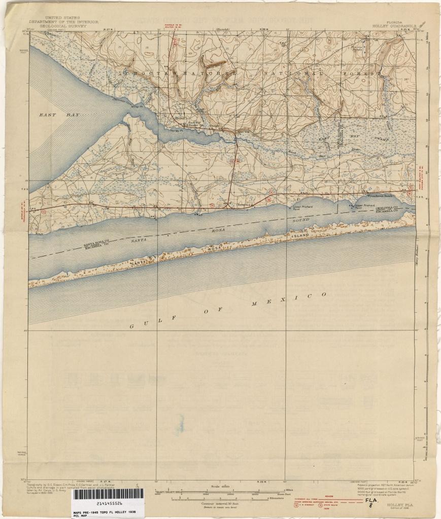 Florida Historical Topographic Maps - Perry-Castañeda Map Collection - Street Map Panama City Florida