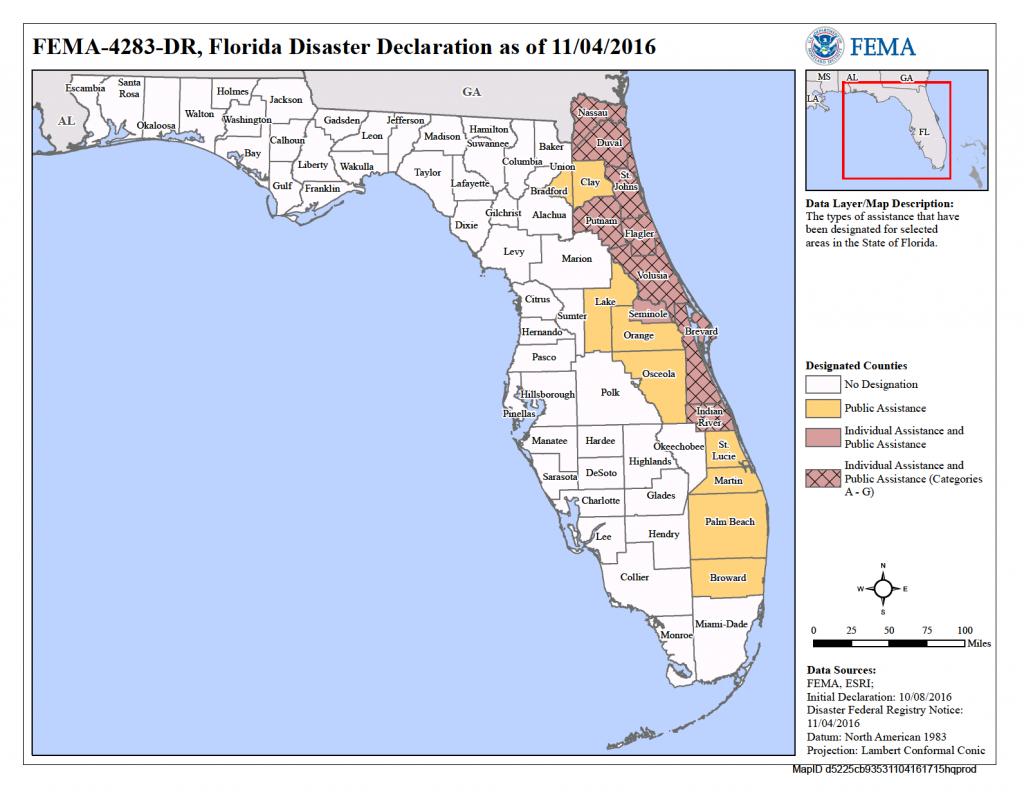 Florida Hurricane Matthew (Dr-4283) | Fema.gov - Fema Flood Maps Indian River County Florida