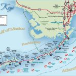 Florida Keys And Key West Real Estate And Tourist Information   Road Map Florida Keys