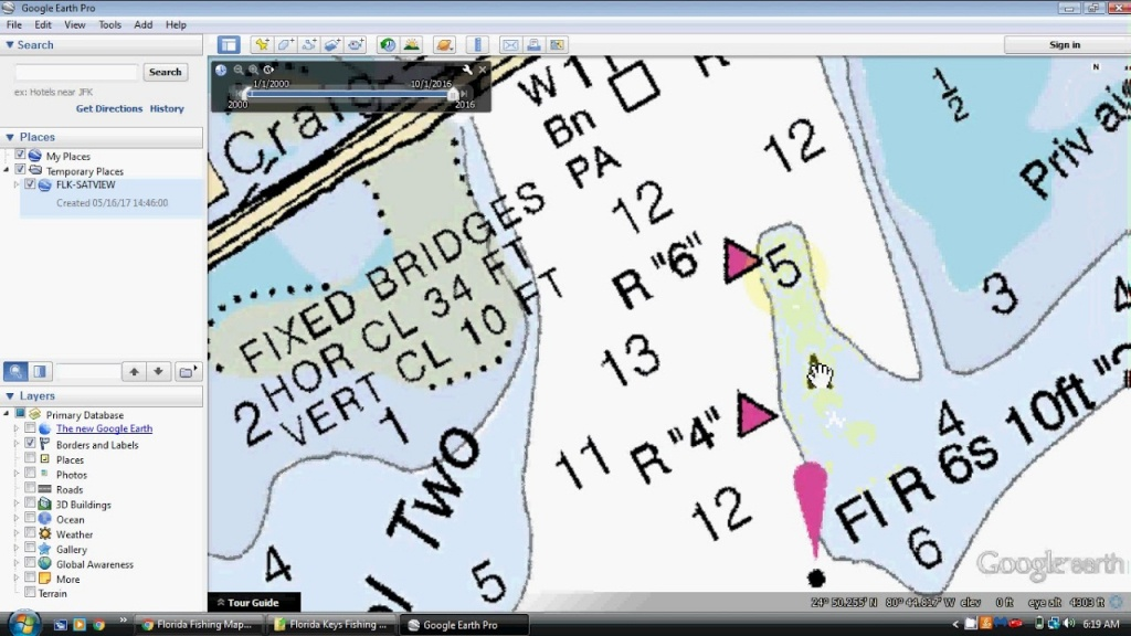 Florida Keys Fishing Spots For Key Largo, Islamorada, Marathon To - South Florida Fishing Maps