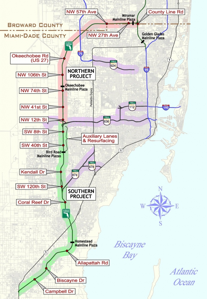 Florida Keys & Key West Travel Information - Road Map Florida Keys