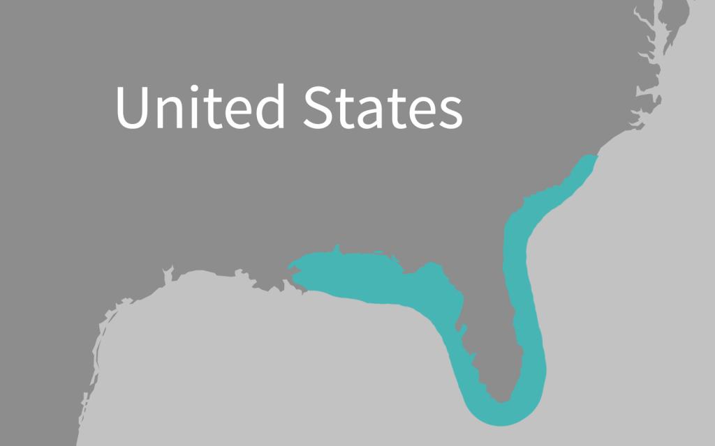 Florida Manatee - Marine Mammal Commission - Manatee Florida Map