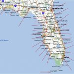Florida Map East Coast Cities And Travel Information | Download Free   Map Of Florida East Coast