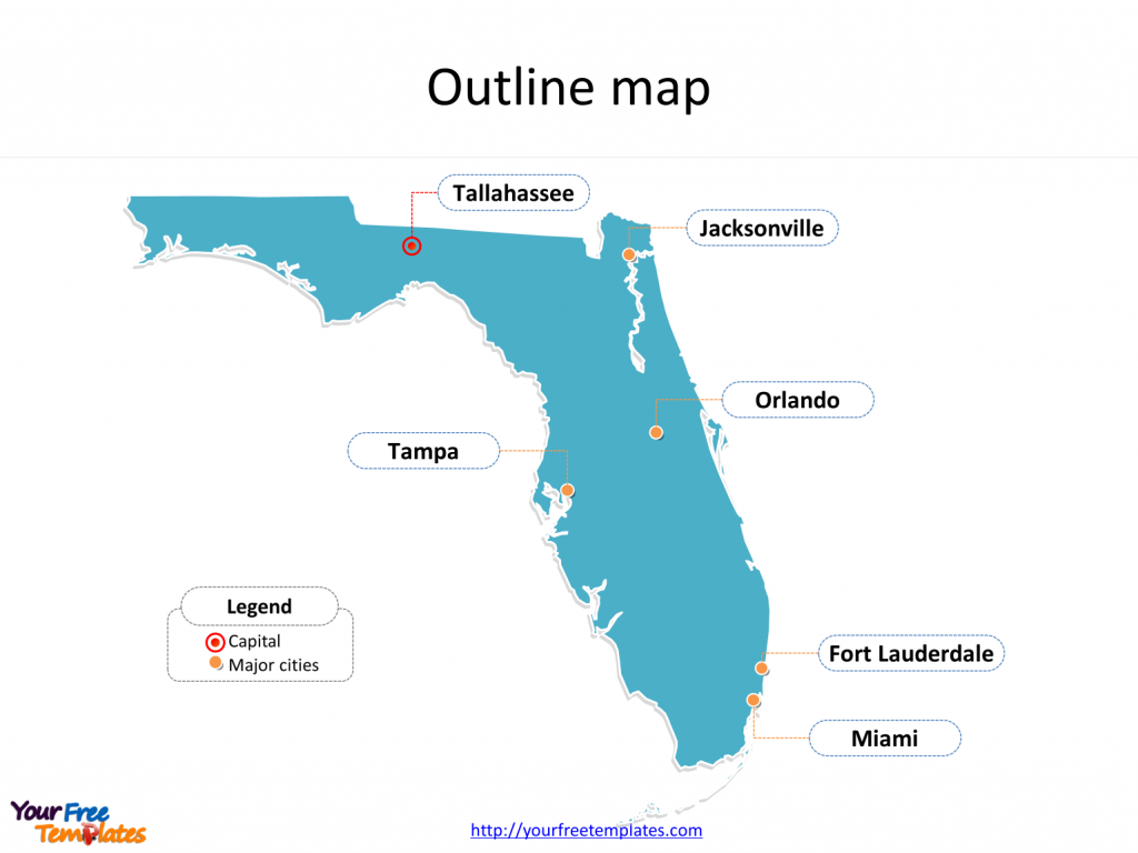 Florida Map Powerpoint Templates - Free Powerpoint Templates - Free Florida Map