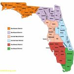 Florida Map With Counties – Lgq – Map Of Florida Counties And Cities