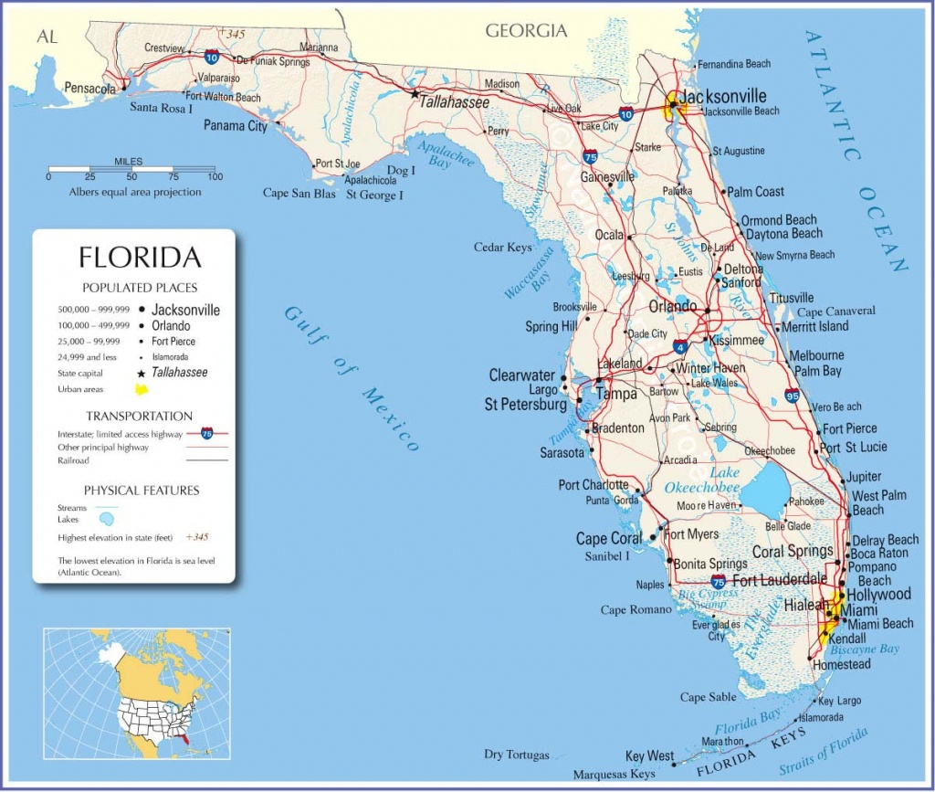 Florida Map,florida State Map,florida Road Map, Map Of Florida - Google Maps Florida Usa