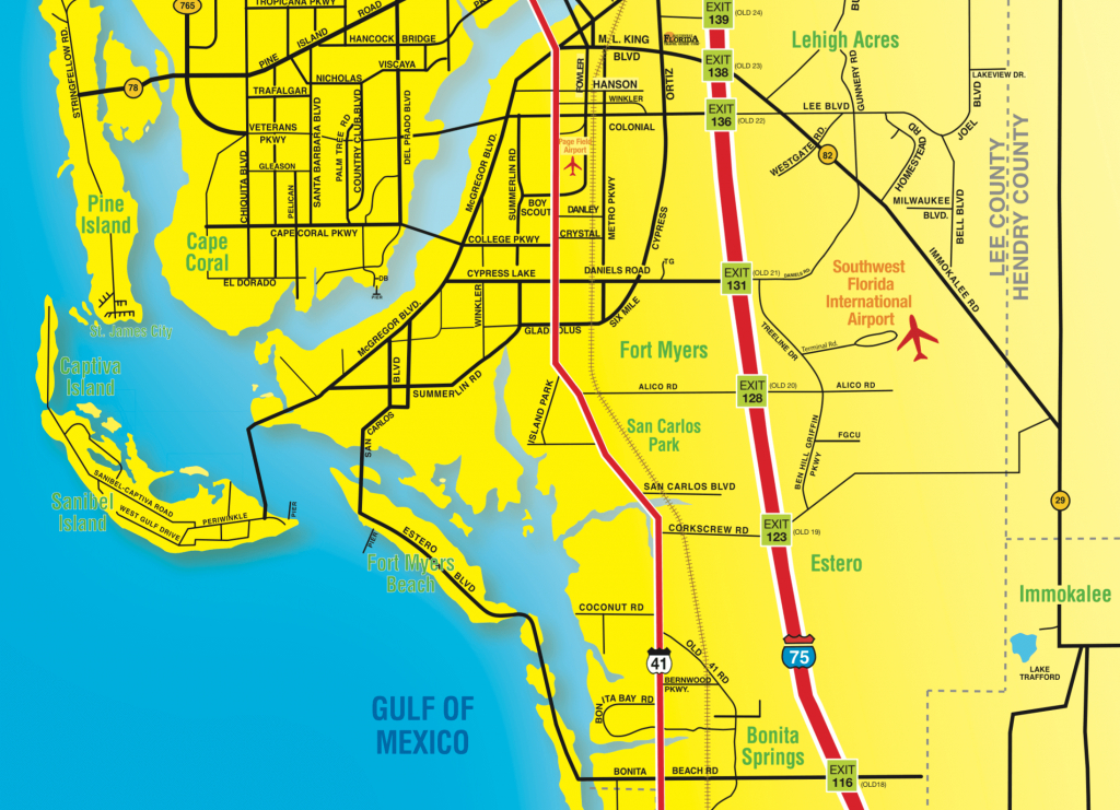 Florida Maps - Southwest Florida Travel - Map Of Southwest Florida