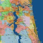 Florida Mapszip Code And Travel Information | Download Free   Florida Zip Code Map