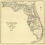 Florida Memory   Florida Road Condition Map, 1924   Labelle Florida Map