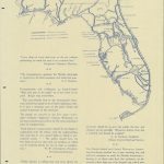 Florida Memory   Map Of Florida Waterways And Proposed Canals (Ca. 1930)   Florida Waterways Map
