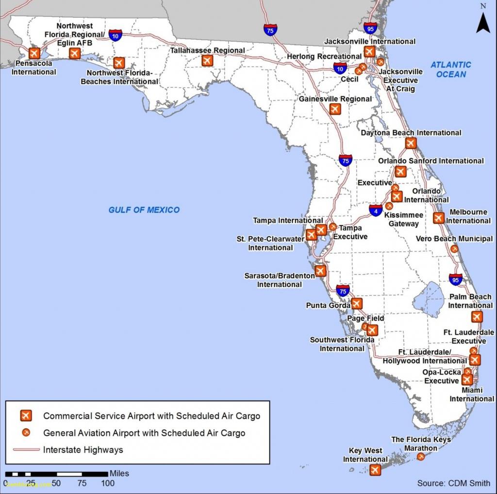 Florida Panhandle Beaches Map - Map Of Florida Panhandle Gulf Coast