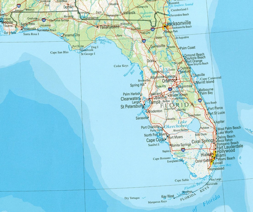 Florida Reference Map - Palm Beach Florida Map