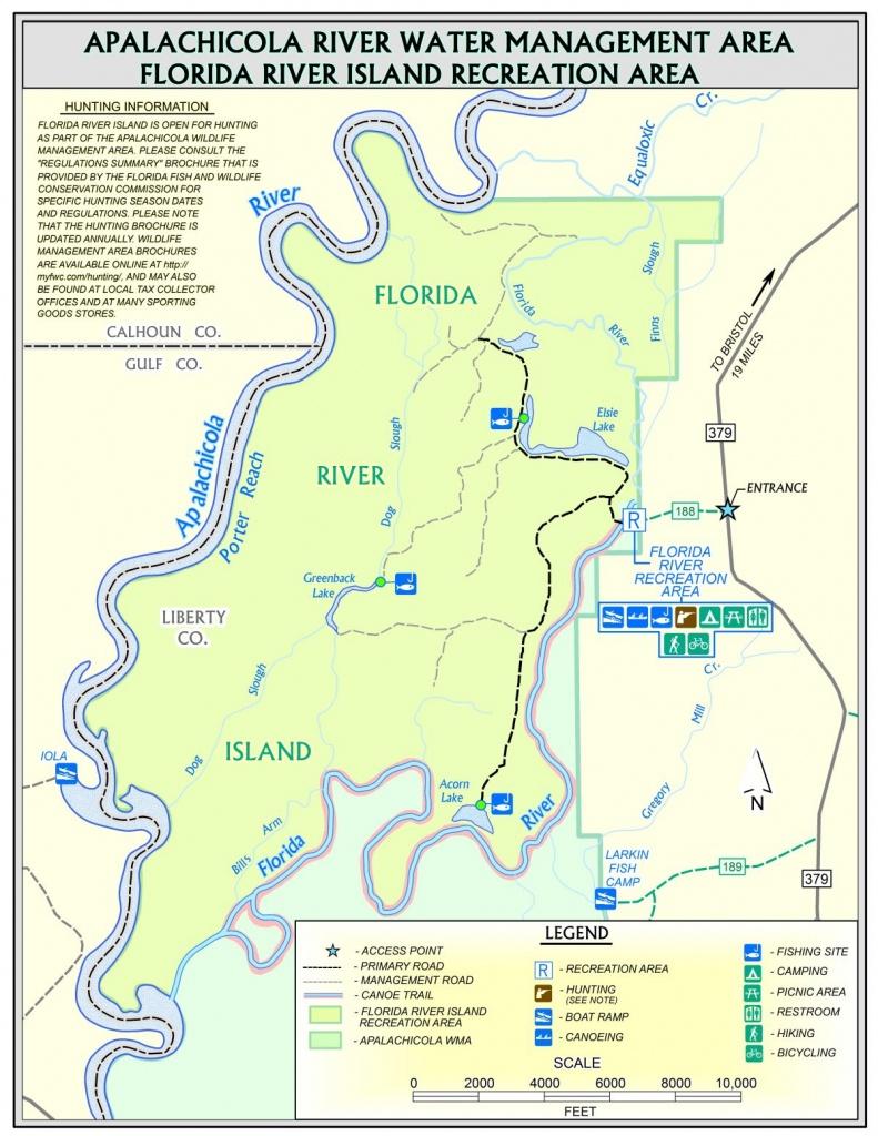 Florida River Island   Northwest Florida Water Management District - Northwest Florida Water Management District Map