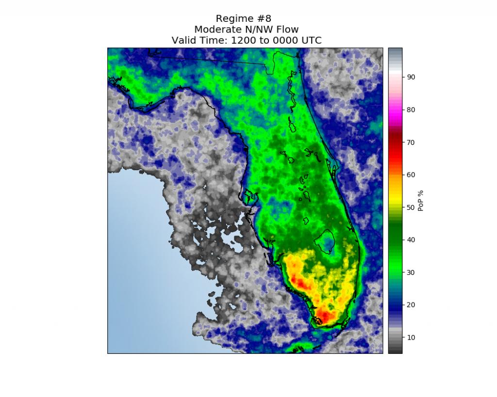 Florida Sea Breeze Regime #8 - Seabreeze Florida Map