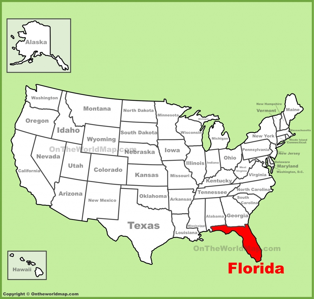 Florida State Maps   Usa   Maps Of Florida (Fl) - Sunrise Beach Florida Map