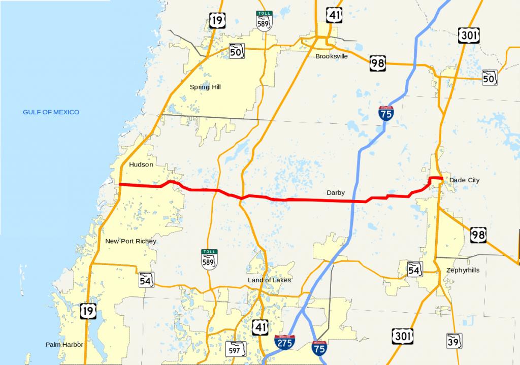 Florida State Road 52 - Wikipedia - Hudson Florida Map