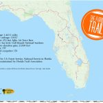 Florida Trail | Florida Hikes!   White Springs Florida Map