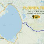 Florida Trail, Okeechobee Section | Florida Hikes!   Lake Okeechobee Florida Map