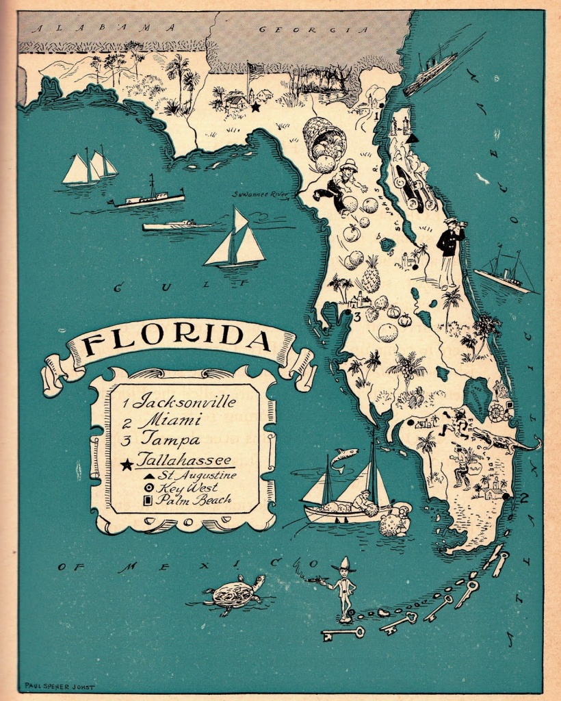 Florida Vacations Many Times! One Of My Favorite Vacation Spots - Map Of Florida Vacation Spots