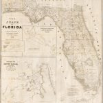 Florida Vintage Road Maps Track The Growth Of The State   Old Florida Road Maps