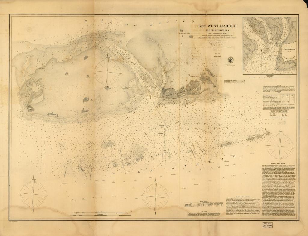 Florida Water Depth Chart Or Nautical Free Free Nautical Charts - Water Depth Map Florida