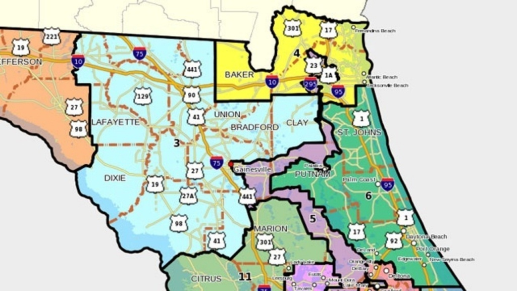 Florida's 6Th Congressional District - Florida 6Th Congressional District Map