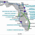 Florida's Turnpike   The Less Stressway   Florida City Gas Service Area Map