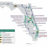Florida's Turnpike   The Less Stressway   Map Of East Coast Of Florida Cities
