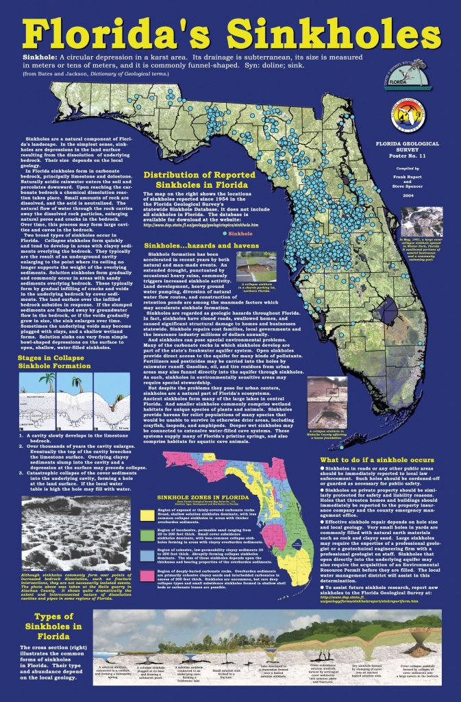 Florida+Sinkhole+Map | Florida Sinkhole Map | Florida | Ocala - Florida Sinkhole Map 2018