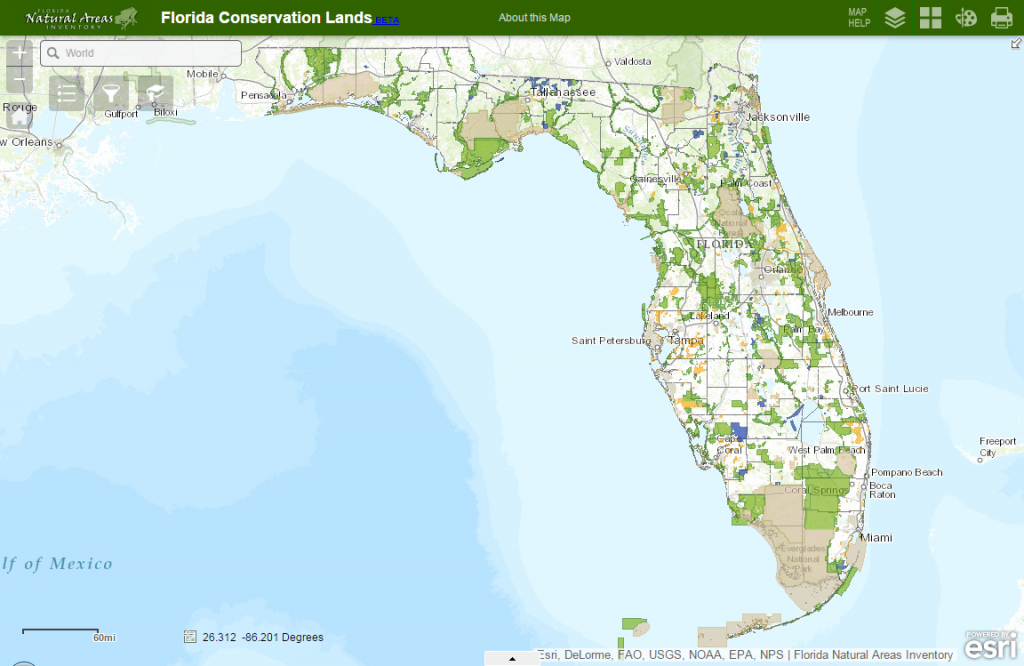 Fnai - Florida Land Use Map