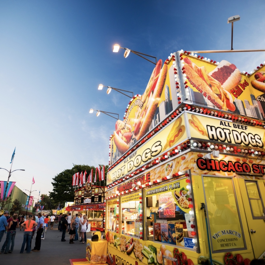 Food, Drink & Shopping | California Mid-State Fair - Map Of California Mid State Fair
