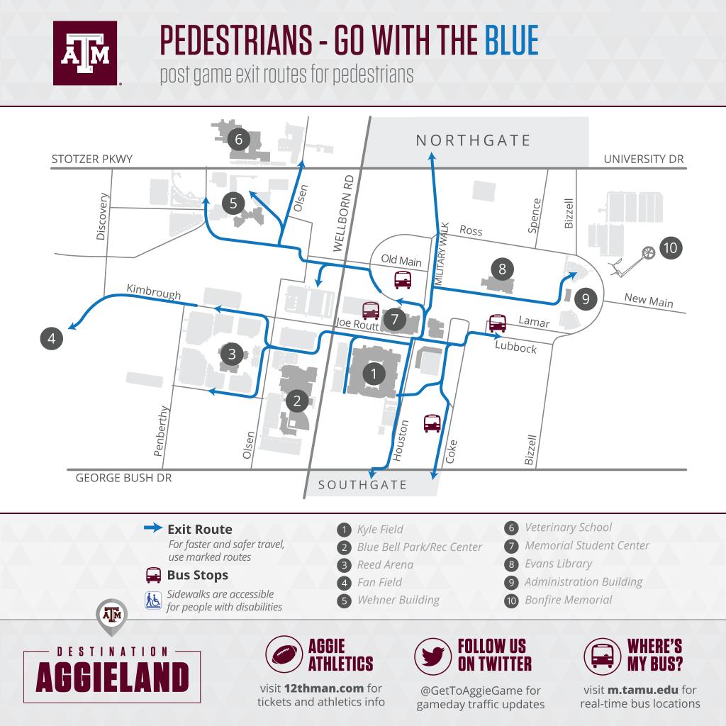 Football Parking & Information - Texas A&m Parking Lot Map