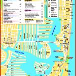 Fort Lauderdale Beach Tourist Map   Street Map Of Fort Lauderdale Florida