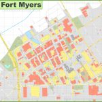 Fort Myers Downtown River District Map   Where Is Fort Myers Florida On A Map