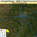 Fort Worth/dallas, Tx   Waco Texas Weather Map