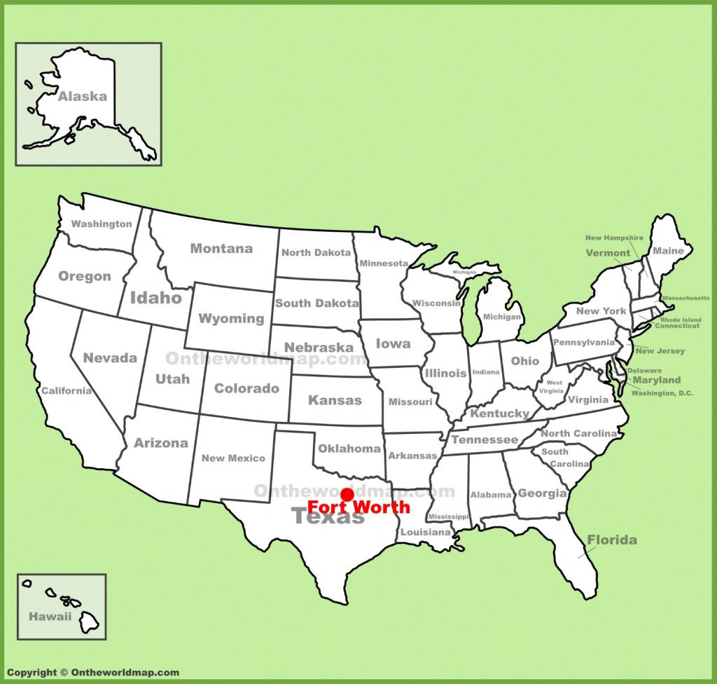 Fort Worth Maps | Texas, U.s. | Maps Of Fort Worth - Fort Worth Texas Map